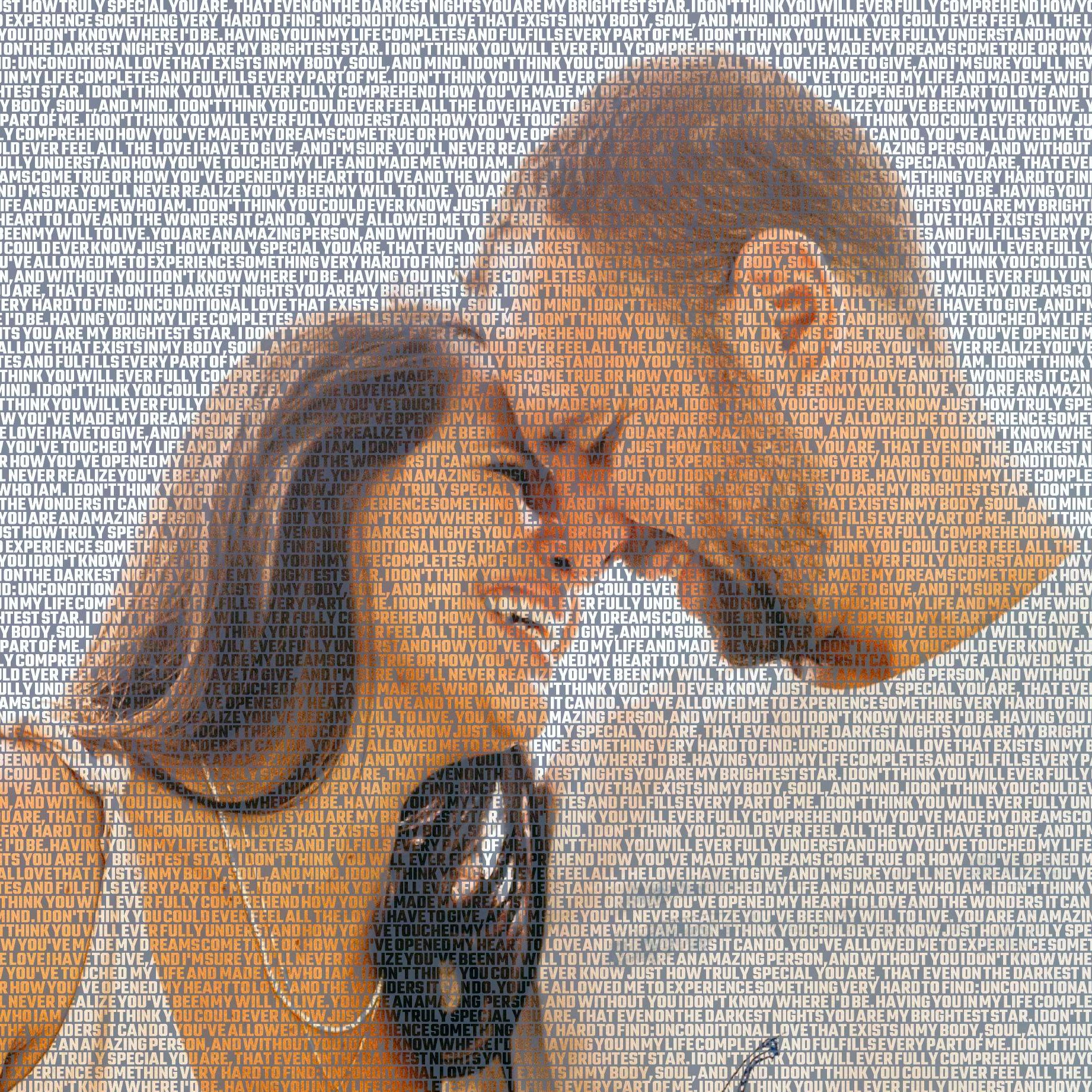 pictures made out of words